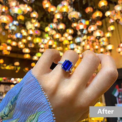 Jewelry retouching service-Zenone studio - basic jewelry retouching social media a