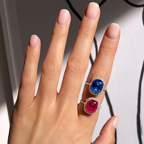 Jewelry retouching service-Zenone studio - change jewelry color 1 b