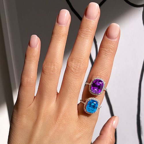 Jewelry retouching service-Zenone studio - change jewelry color a