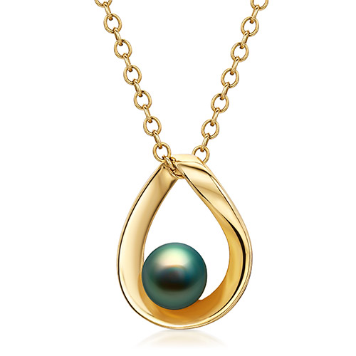 Jewelry retouching service-Zenone studio - change jewelry color pearl b