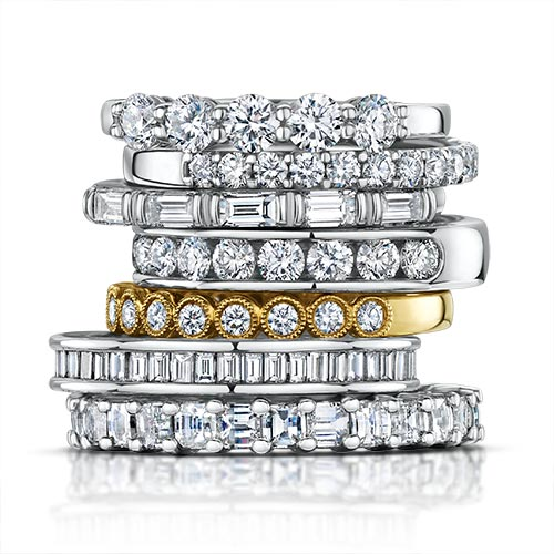 High end jewelry retouching service,retouching group diamond ring