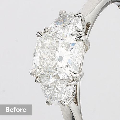 Jewelry retouching service-Zenone studio - highend jewelry retouching enhance diamond b