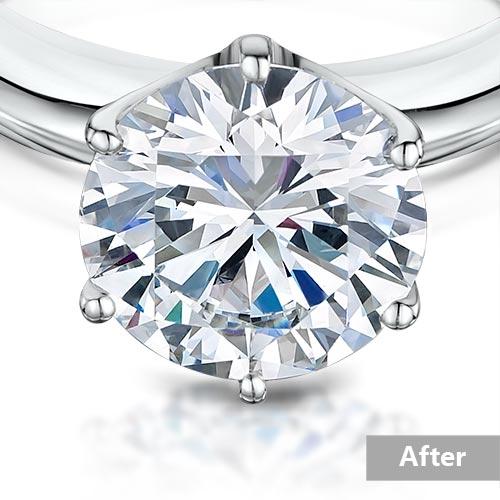 Jewelry retouching service-Zenone studio - highend jewelry retouching perfect clean a