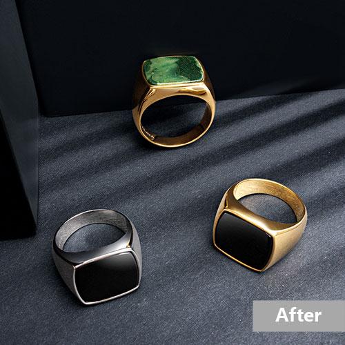 Jewelry retouching service-Zenone studio - jewelry retouching service highend jewelry retouching a