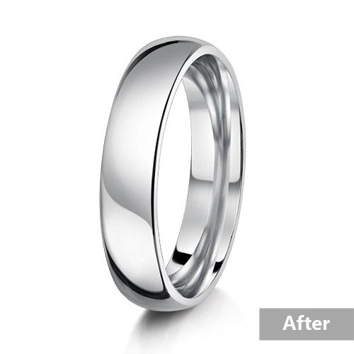 Jewelry retouching service-Zenone studio - pro jewelry retouching clean metal a