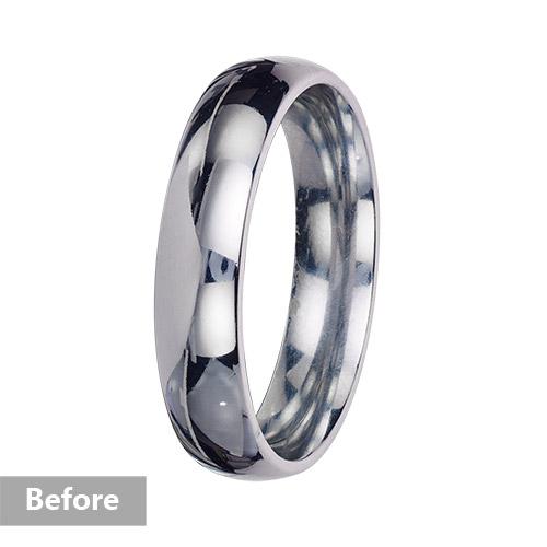 Jewelry retouching service-Zenone studio - pro jewelry retouching clean metal b