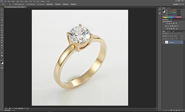 Jewelry retouching service-Zenone studio - Open jewelry photo in photoshop