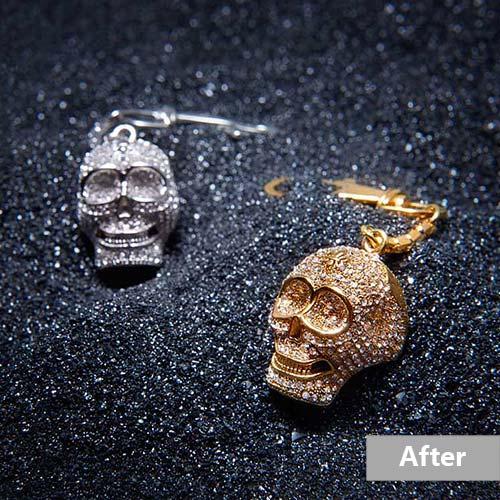 Jewelry retouching service-Zenone studio - jewelry retouching example basic a