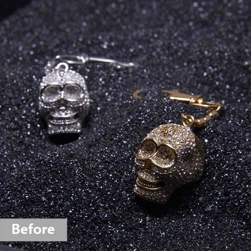 Jewelry retouching service-Zenone studio - jewelry retouching example basic b
