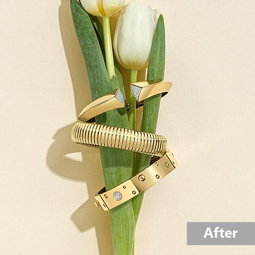Jewelry retouching service-Zenone studio - jewelry retouching example highend a
